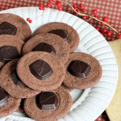 Making Dove Creamy Chocolate Cookies