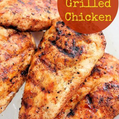dry rub grilled chicken