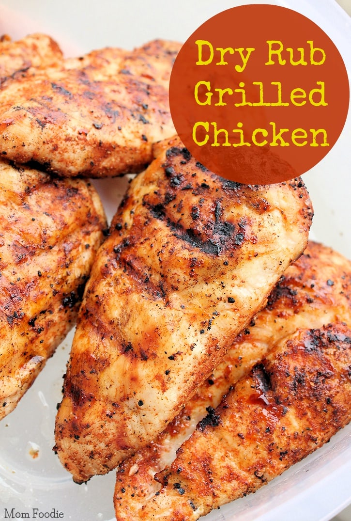 dry rub grilled chicken