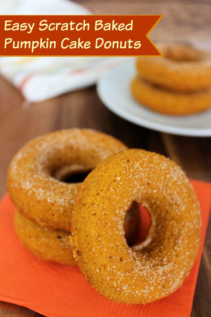 easy baked pumpkin doughnuts recipe