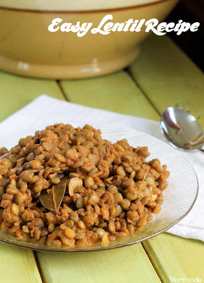 easy lentil recipe