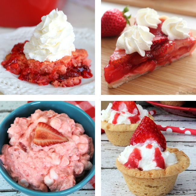 easy strawberry desserts