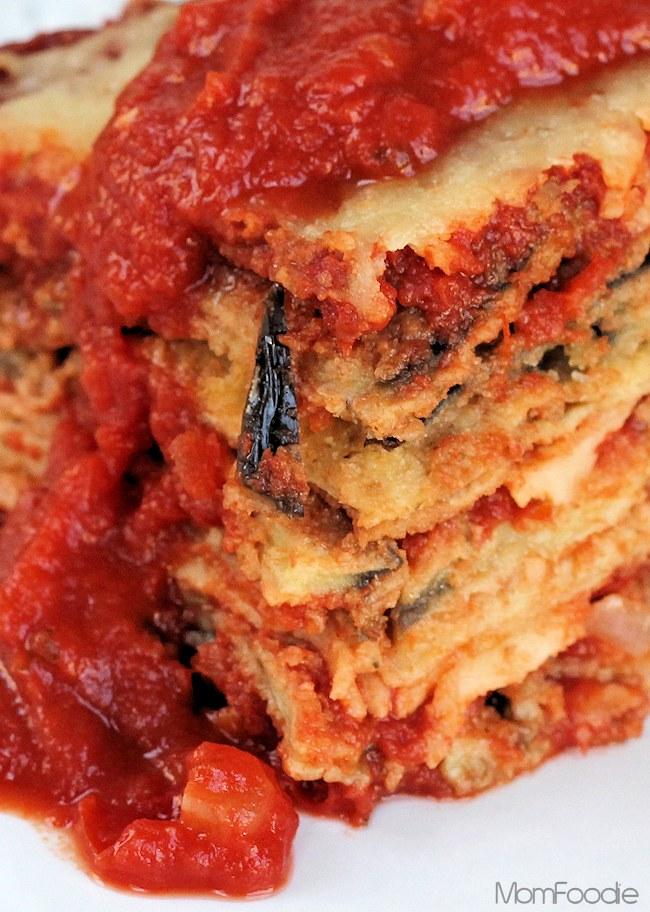 Eggplant Parmesan Casserole RecipeMom Foodie
