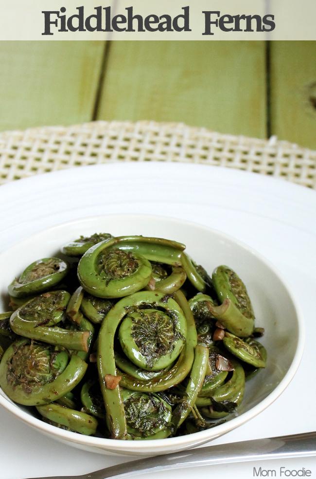 fiddlehead ferns recipe