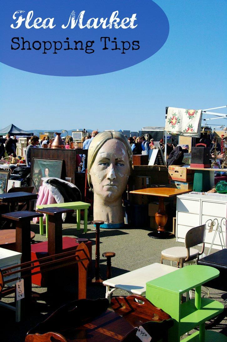flea market shopping tips