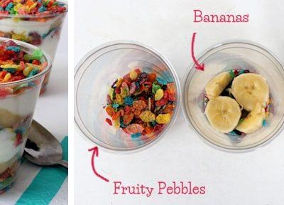 Fruity Pebbles Parfait
