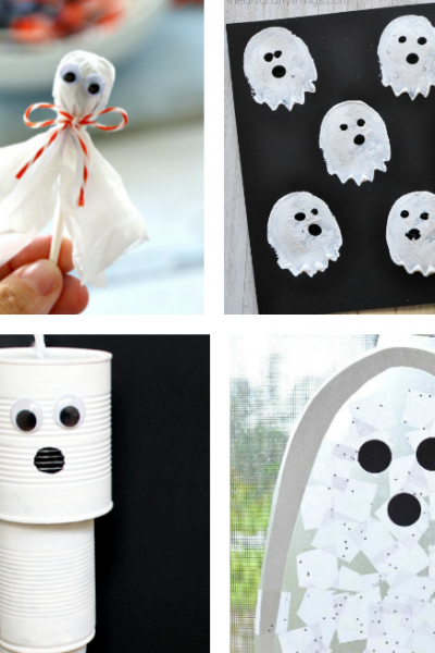 15 Halloween Ghost Crafts for Kids