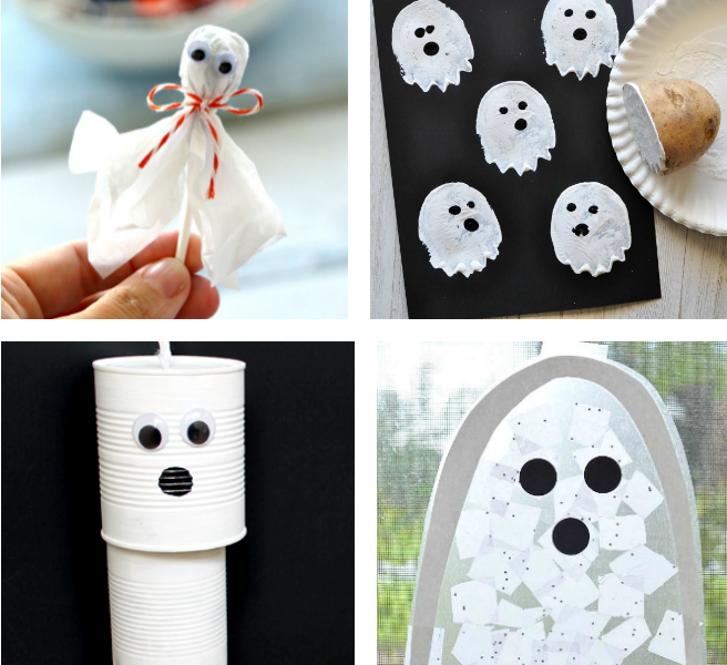 ghost crafts for kids