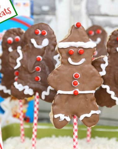 Rice Krispies Gingerbread Boys