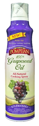 grapeseed oil spray