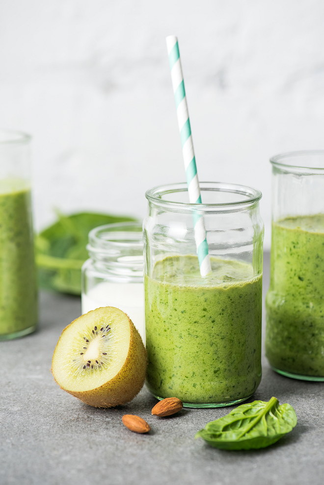 green smoothie energy drink