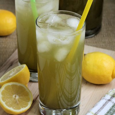 Matcha Green Tea Lemonade Recipe