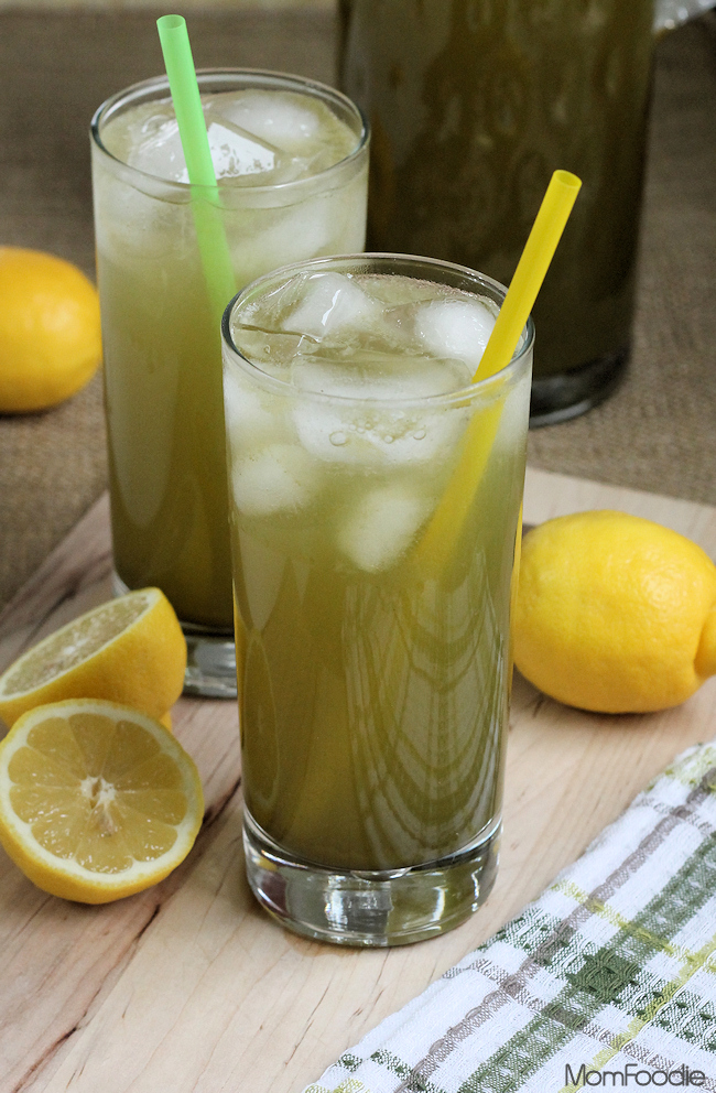 green tea lemonade