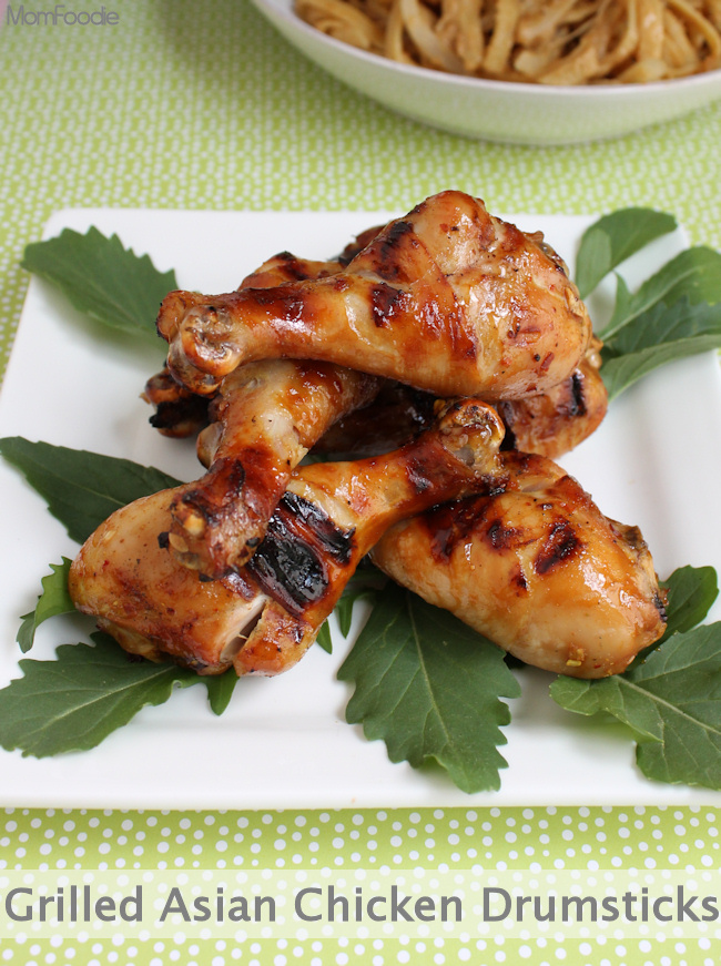 grilled asian chicken drumstick recipe