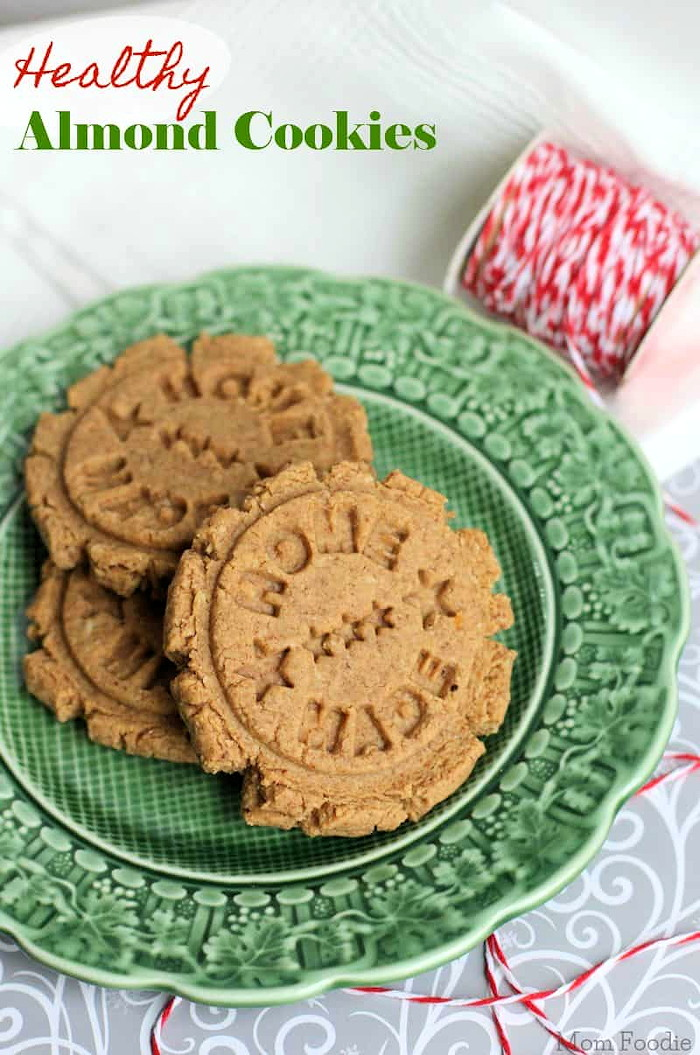 healthy grain free almond cookies