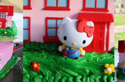 The Hello Kitty Birthday Cake