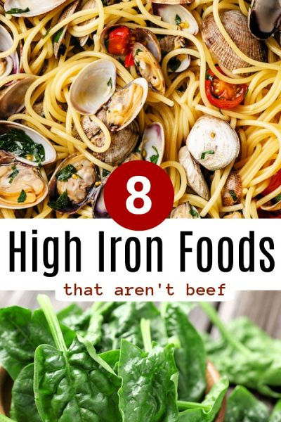 Foods High in Iron, that Have More Iron than Beef