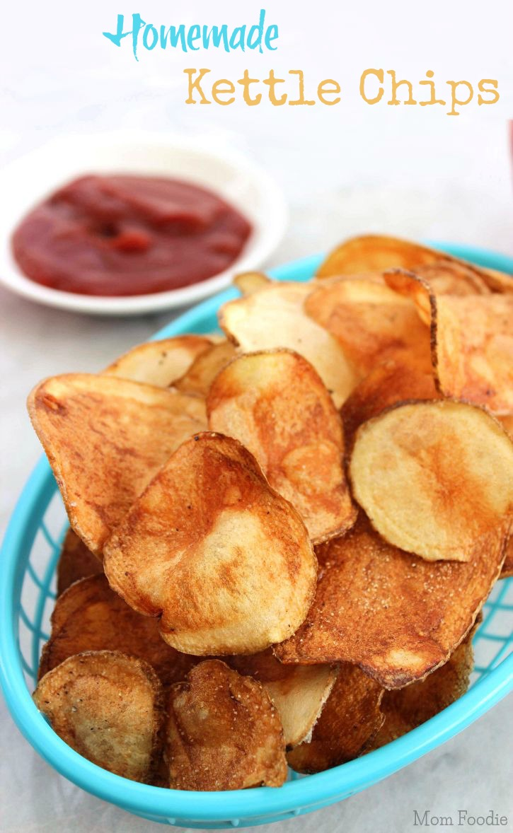How to Make  Kettle Chips Homemade