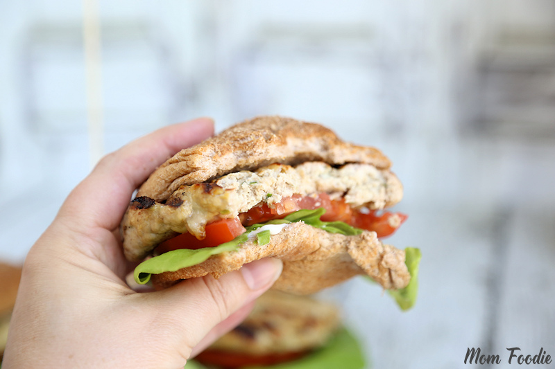 inside-out Turkey Cheeseburger