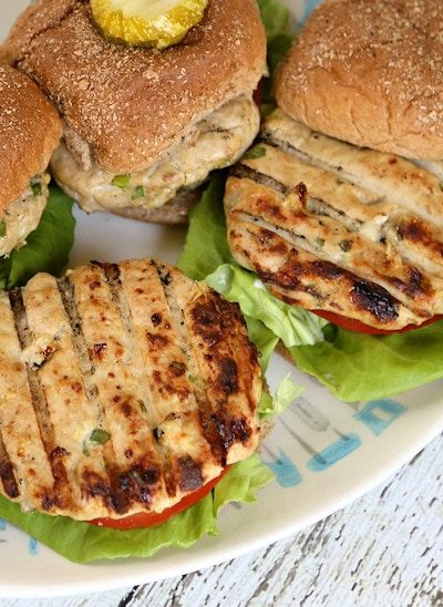 Inside-out Turkey Cheeseburgers