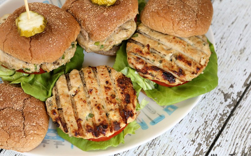 inside-out turkey burgers