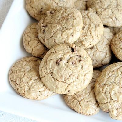 Brown Butter Java Chip Cookies Recipe