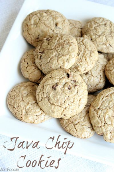 Brown Butter Mocha Chip Cookie Recipe