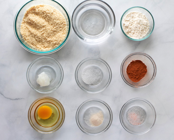 keto churro ingredients