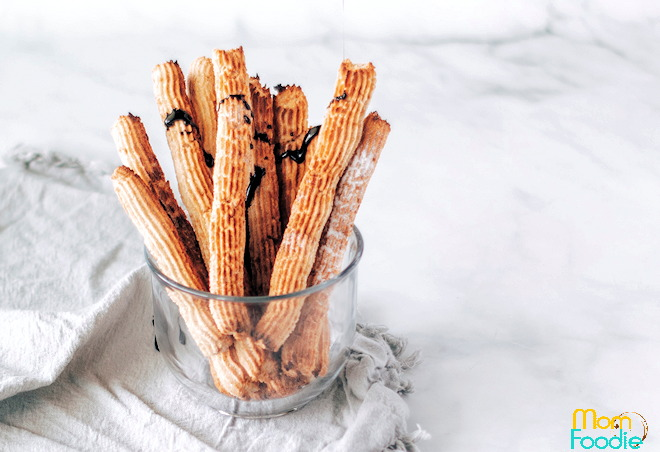keto churros recipe