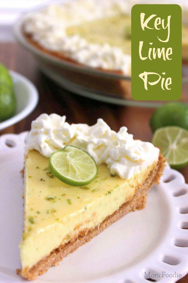 Authentic Key Lime Pie Recipe - Mom Foodie