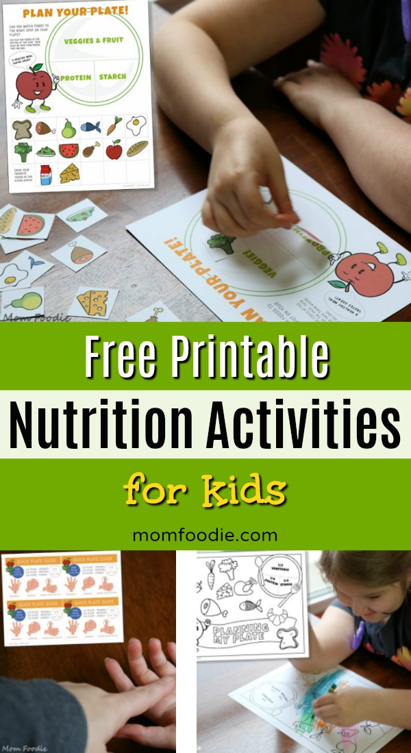 kids nutrition activities