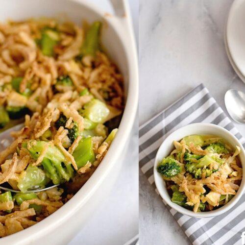 leftover chicken broccoli casserole recipe