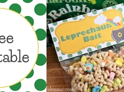 Leprechaun Bait: Free St. Patrick's Day Printable