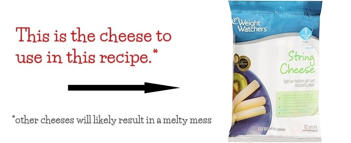 less melting cheese