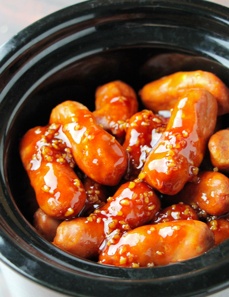 Little Smokies Crockpot Appetizers slow cooker
