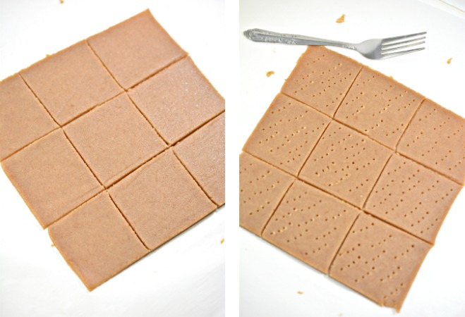 making keto graham crackers