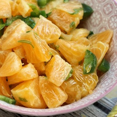 Mandarin Orange Salsa Recipe: Great topping for Seafood