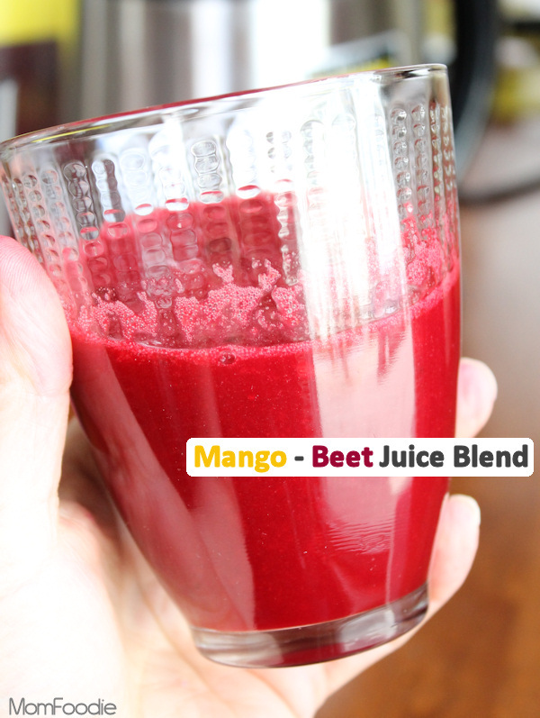 Mango Beet Juice