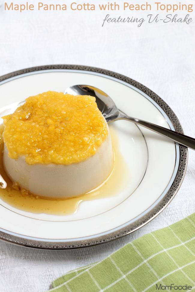 maple panna cotta recipe featuring Vi-Shake