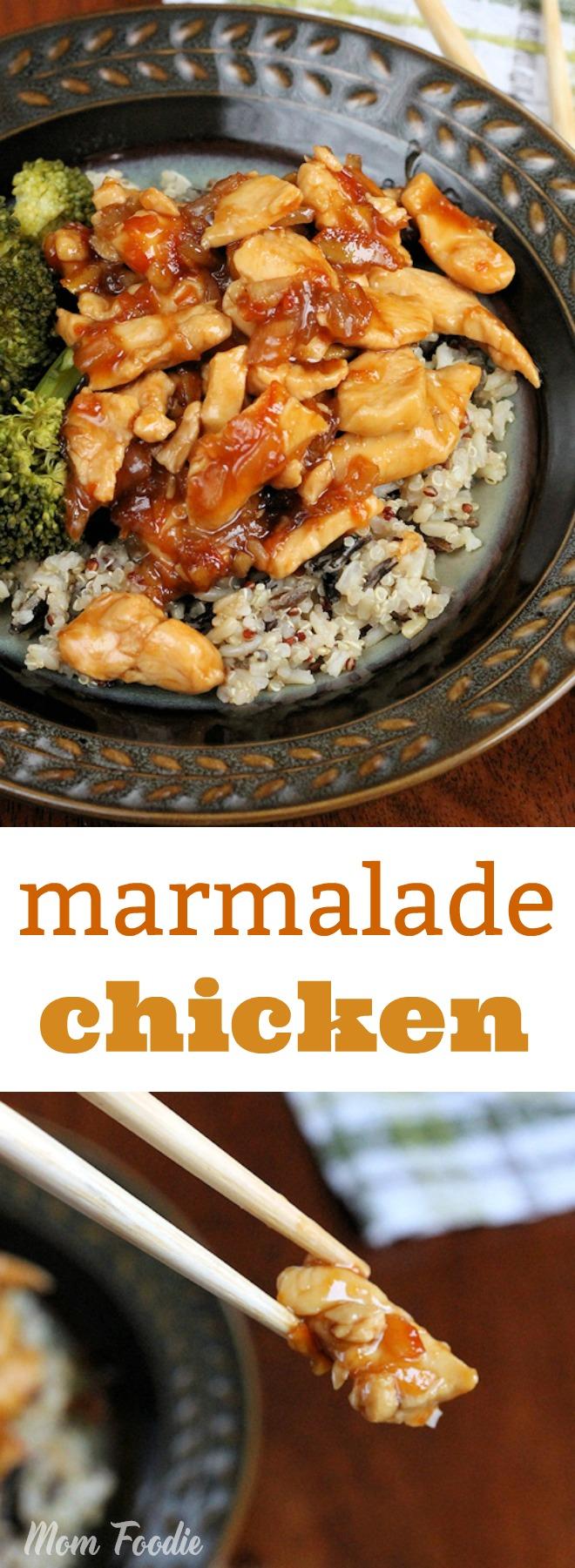 marmalade chicken recipe - easy dinner