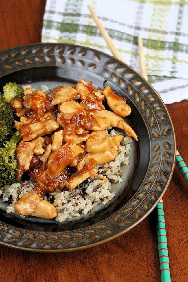 Marmalade Chicken Stir Fry recipe