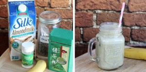Green Tea Chia Smoothie Recipe (Vegan, Dairy-free, Clean-Eating)