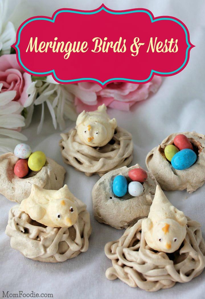 meringue birds and nests