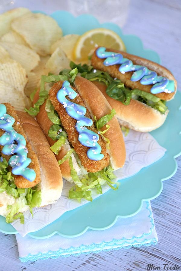 mermaid fish sandwiches