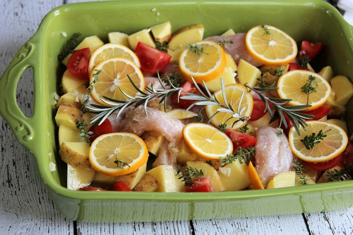 meyer lemon chicken potato