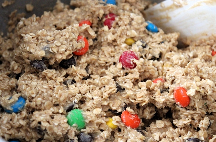 monster cookies mix