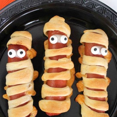 mummy hot dogs feature
