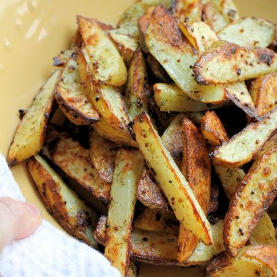 Mustard Dill Oven Fries Recipe