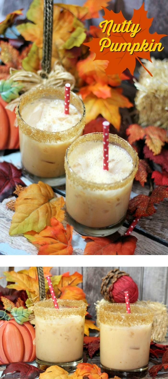 nutty pumpkin cocktail