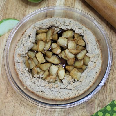 Apple Galette with Oatmeal Crust Recipe